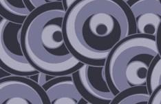 Simple Vintage Swirl Pattern Vector 03