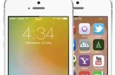 iOS 7 UI Kit Layered PSD
