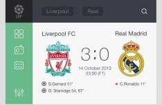 Soccer Widget PSD