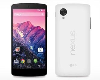 Black and White Nexus 5 Mockup Templates Vector