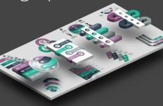 Elegant Infographic Design Elements Vector 01