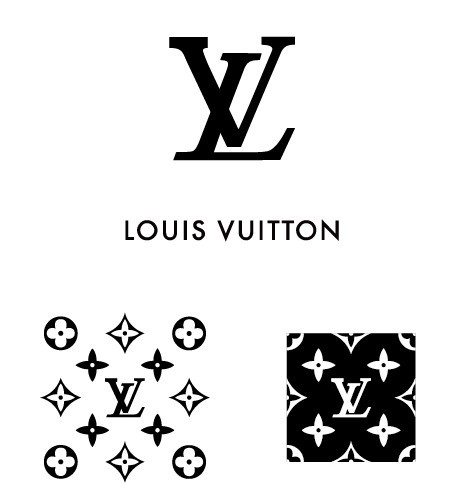 Free Simple Louis Vuitton Logo & Pattern Vector - TitanUI