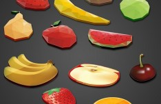 12+ Fruit Icons PSD