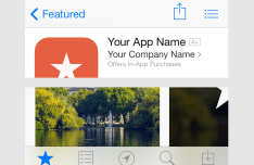 App Store Mockup PSD