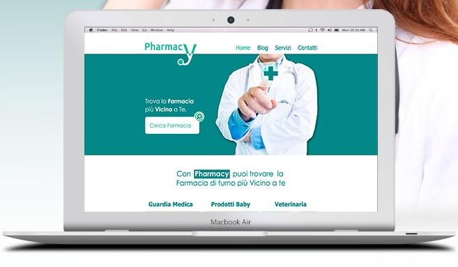 Free pharmacy website template psd titanui pharmacy website template psd maxwellsz