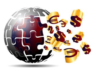 Earth Of Cash Money Vector