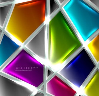 Glossy Glass Texture Vector