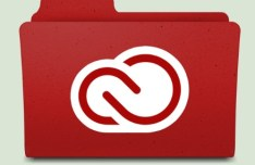 Adobe Creative Cloud Fold Icon PSD