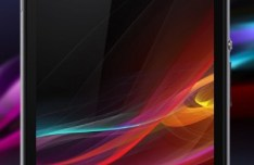 Realistic Sony Xperia Z1 Template PSD
