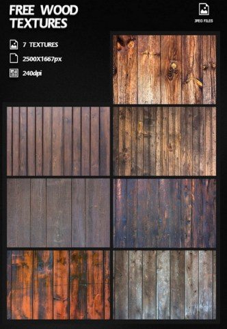 7 High Resolution Wood Textures