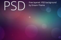 Bokeh Background PSD