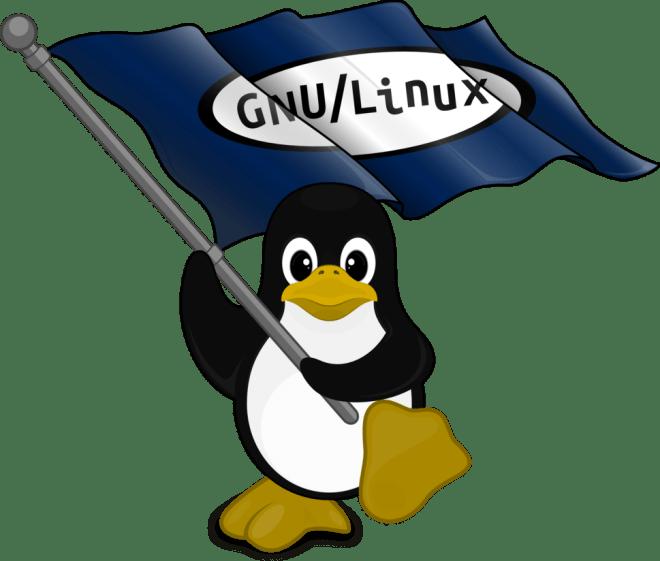 GNU Linux Logo Penguin SVG