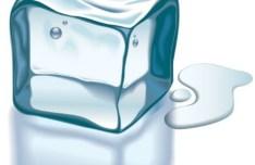 Melting Ice Vector Illustration