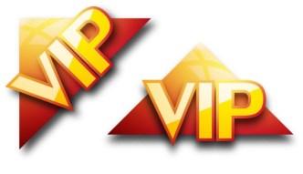 Sleek VIP Symbols Vector