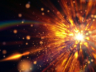 Bright Space Explosion Background Texture