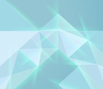 Light Blue Geometry Mesh Background Vector
