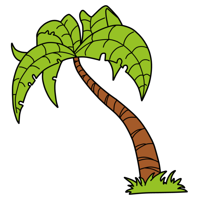 Green Palm Tree Vector