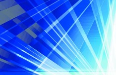 Blue Abstract Lines Vector Background 03