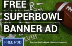 SuperBowl Banner Ad 2014 PSD