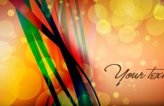 Colored Abstract Banner Design Vector 02