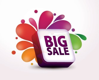 Creative Big Sale Design Vector