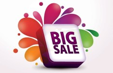 Creative Big Sale Design Vector