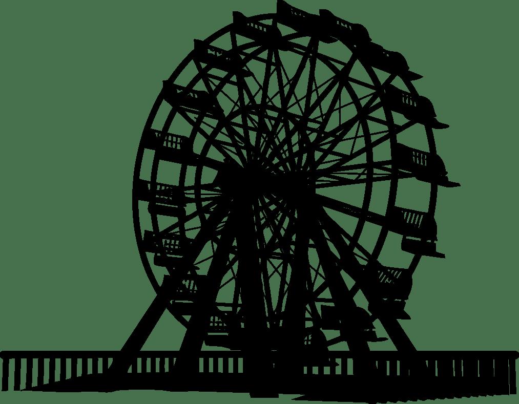 Free Ferris Wheel Vector Silhouette Titanui