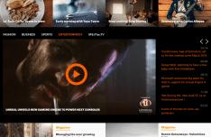 Lifestyle Magazine Style PSD Web Design Template