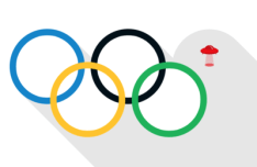 Olympic UFO Games Rings PSD