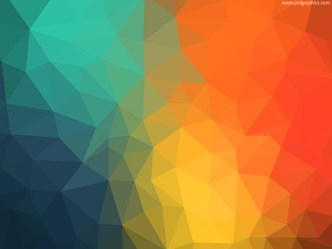 Colorful Triangles Background Texture
