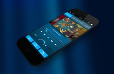 Deep Blue Mobile UI Kit PSD Vol 2