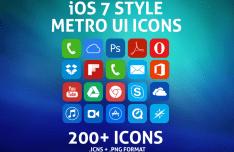 200+ Metro UI Icons