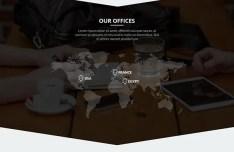 Arrow - One Page Business Portfolio Template PSD