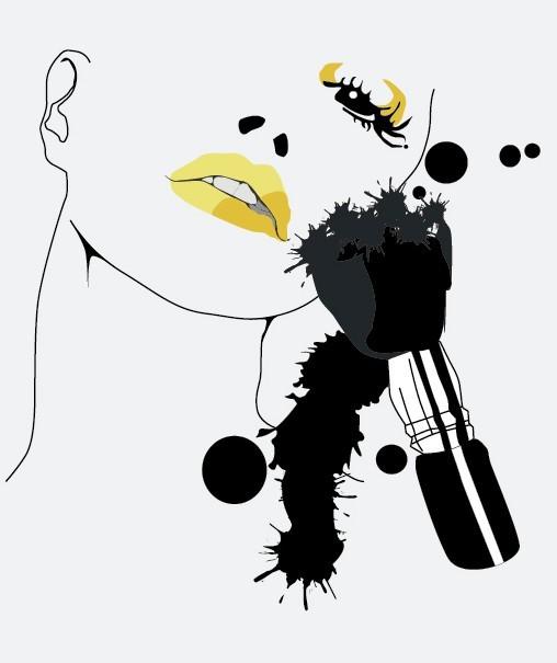 Fashion Model Sketch Vector 02