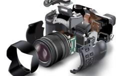 Sony Camera Perspective Vector