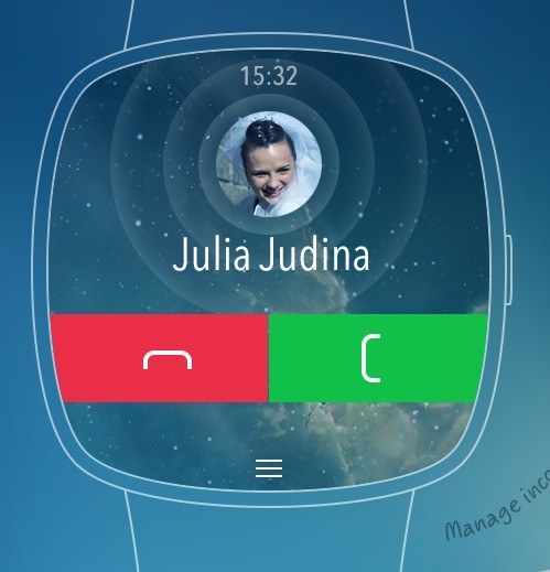 iWatch Concept Template PSD