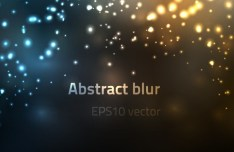 Bright Abstract Blur Background Vector 01