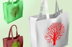 Colorfull Shopping Bags Vector