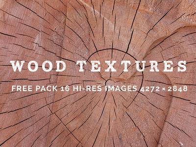 16 Hi-Res Wood Textures