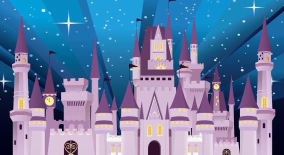 free vector cartoon disney castle titanui
