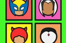Marvel Heroes Icon Pack Vector