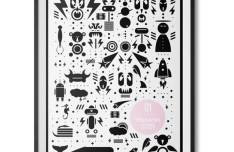 Random Character Icons Vector Set 02