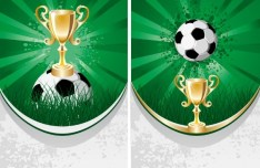 Soccer Poster Template Vector