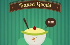 Sweet Baked Goods Vector