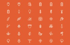 200+ Line Icons Pack Vector
