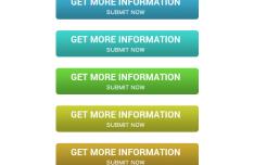 Marketing Button Set Layered PSD