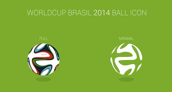2014 FIFA World Cup Brazil Soccer Ball Icon
