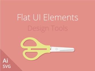 Flat Vector UI Elements