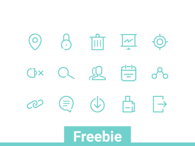 Simple Web Line Icon Pack