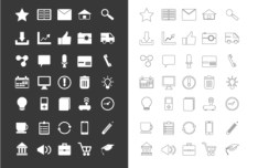 70+ Vector Business Icons